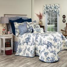 Bouvier Blue Bedspread - 138641226340