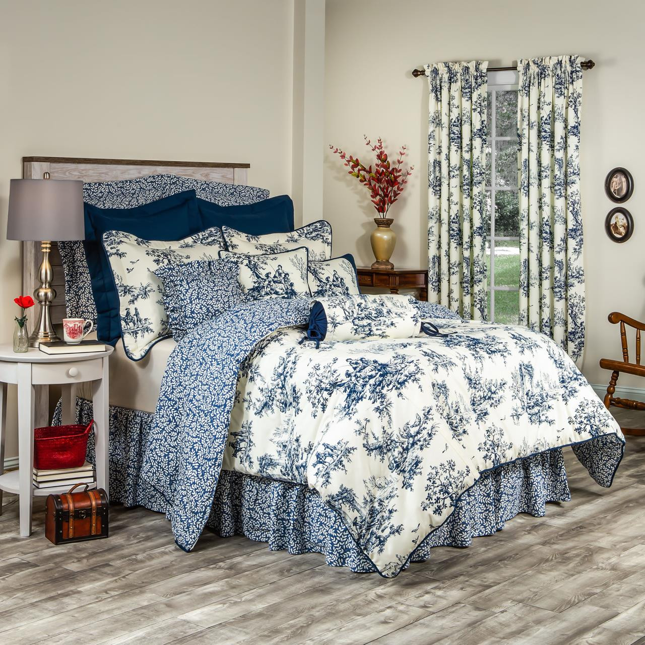 Bouvier Blue Comforter By Thomasville Paul S Home Fashions