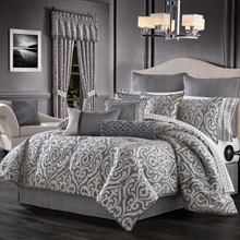 Tribeca Charcoal Comforter Collection -