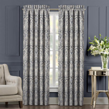 Alexis Powder Blue Curtain Pair - 193842108604