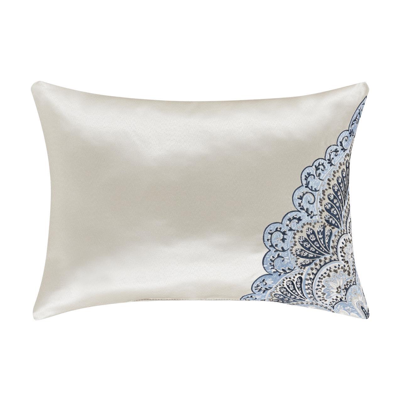 Alexis Powder Blue Boudoir Pillow - 193842108567