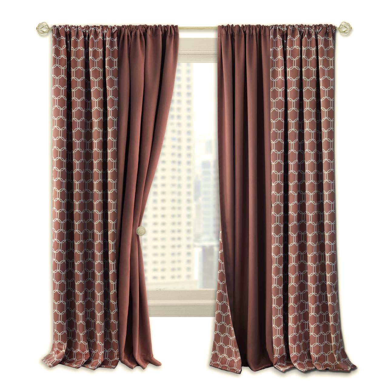 Prelude Reversible Blackout Curtain - 054006250907