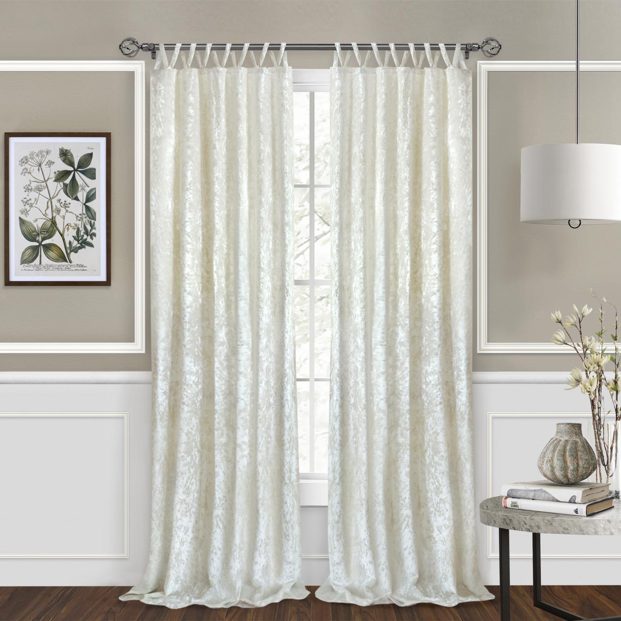 Harper Criss-Cross Curtain - 054006254905