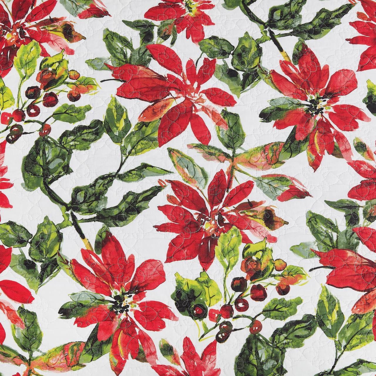 Poinsettia Quilt Collection -