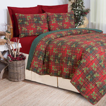 Nicholas Plaid Quilt Collection -