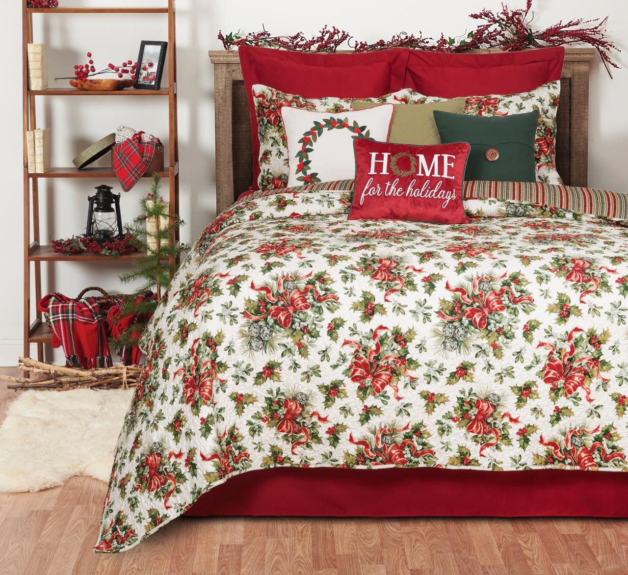 Holiday Ribbon Quilt Collection -