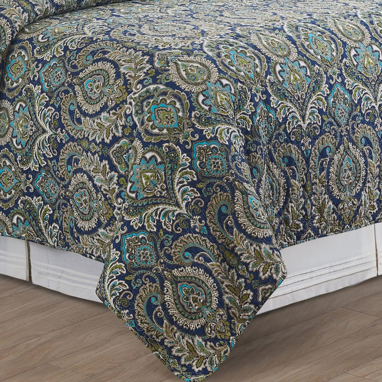 Ada Navy Quilt Collection -