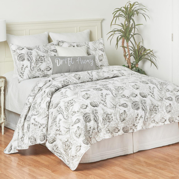 Fenwick Isle Gray Quilt Collection -