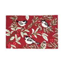 Chickadee Red Rug - 8246741466