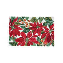 Poinsettia Berries Rug - 008246741442