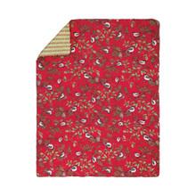 Chickadee Red Throw - 8246747932