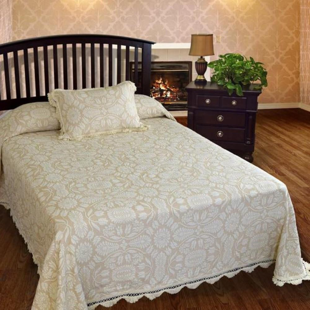 Colonial Rose Bedspread Collection -