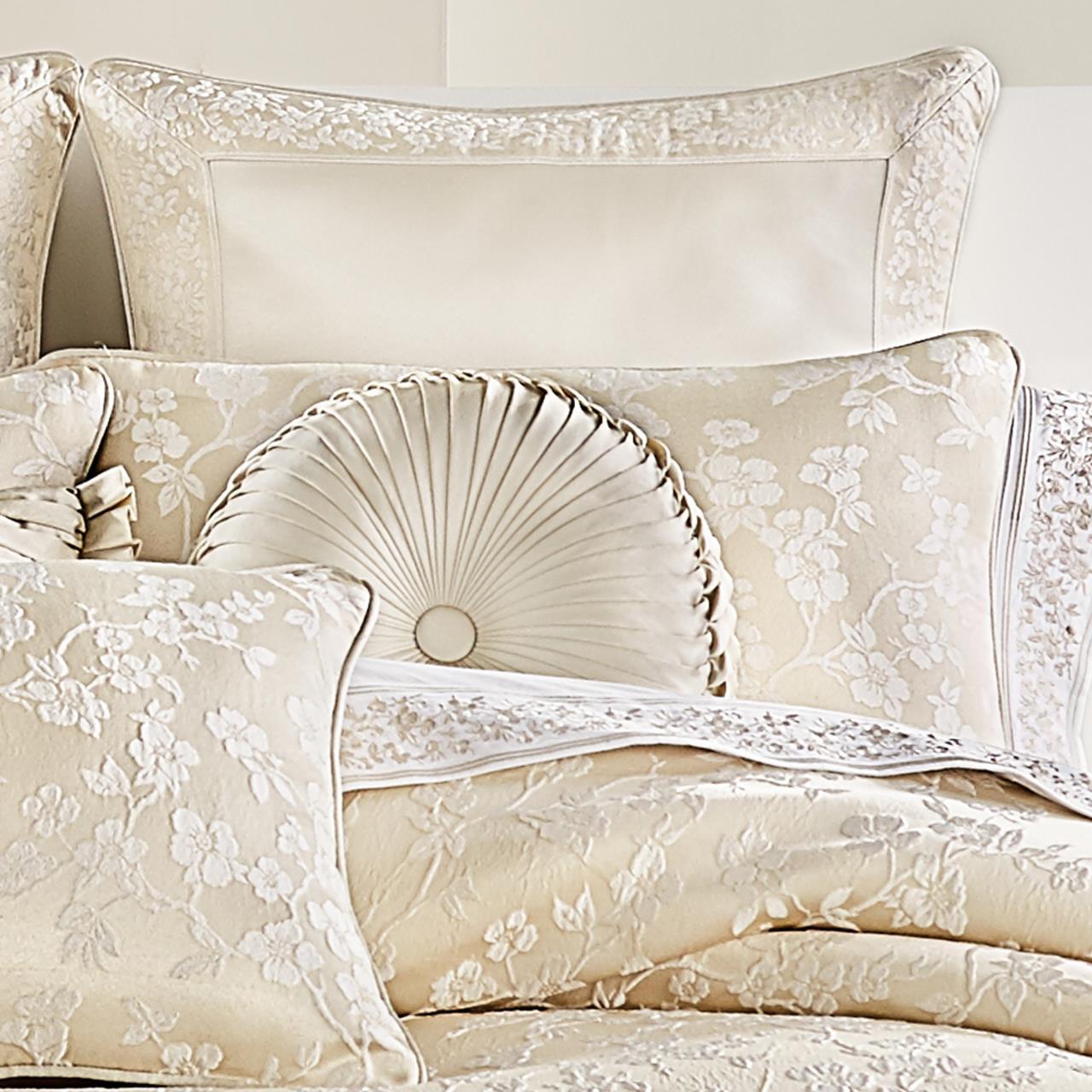 Blossom Ivory Comforter Collection -