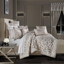 Deco Silver Comforter Set - 193842109595