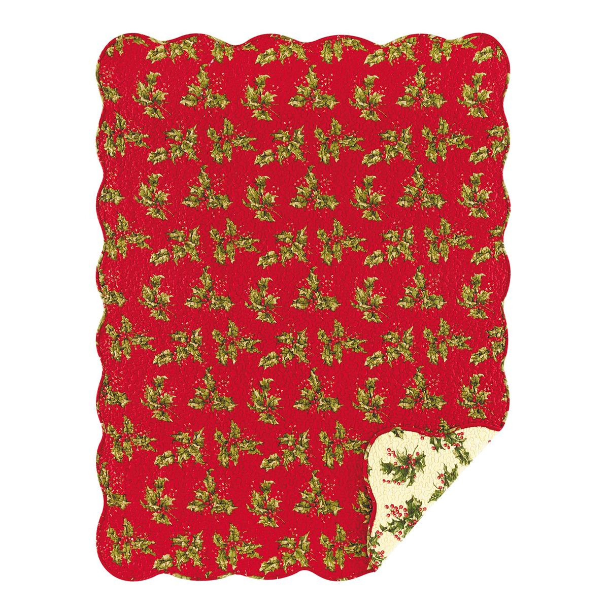 Holly Red Throw - 008246427469