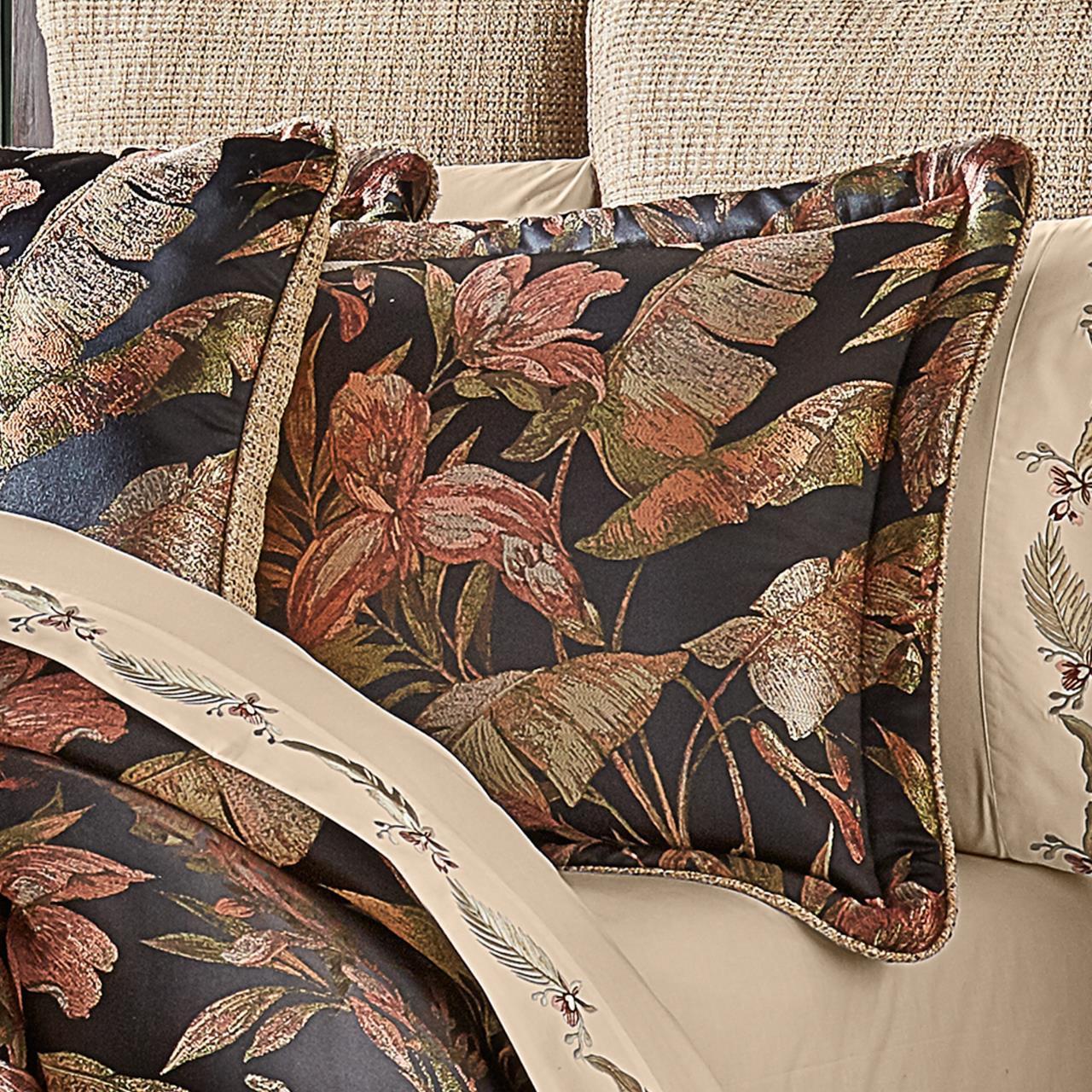 Martinique Black Comforter Collection -