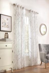 Lisette Faux Linen Grommet Curtain - 695565081870