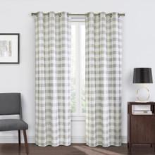 Hopscotch Check Grommet Curtain Pair - 069556516458