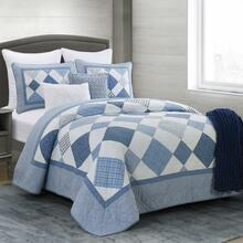 Azure Diamond Quilt Collection -