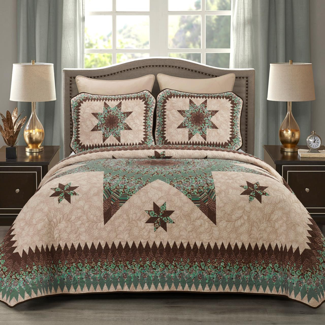 Sea Breeze Star Quilt Collection -