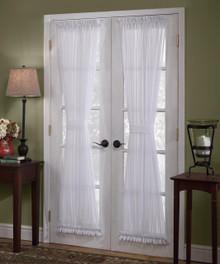 Emelia Sheer Lace Door Panel - 647506012672