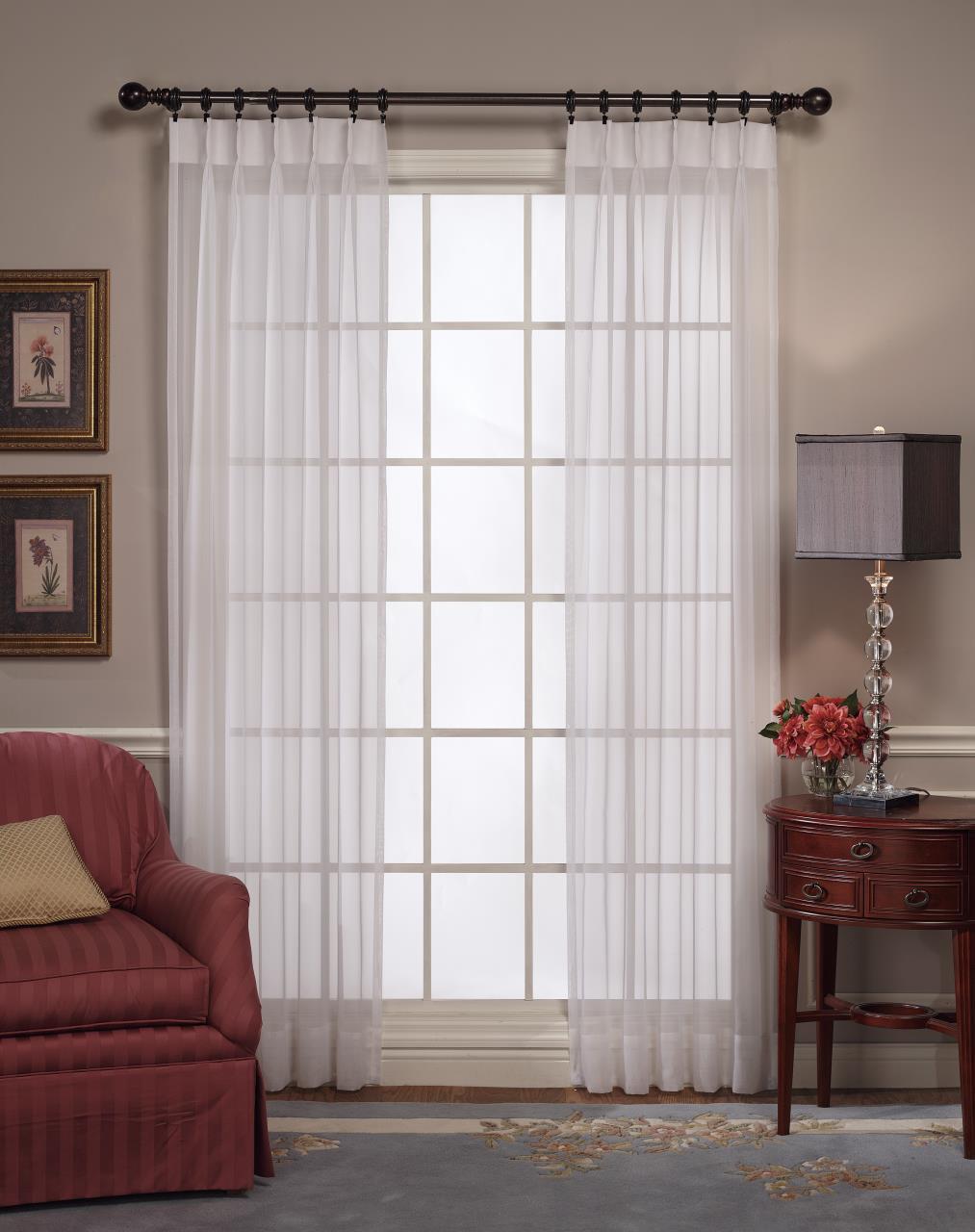 Emelia Pinch Pleat Lace Curtain - #REF!