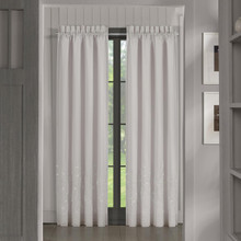 Cherry Blossom Grey Curtains - 193842111680