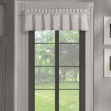 Cherry Blossom Grey Straight Valance - 193842111734