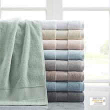 Turkish Cotton 6 Piece Bath Towel Set - 086569919984