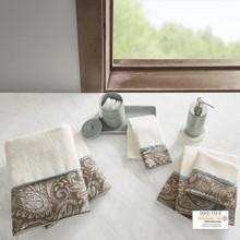 Aubrey Jacquard Towel Set - 086569956422