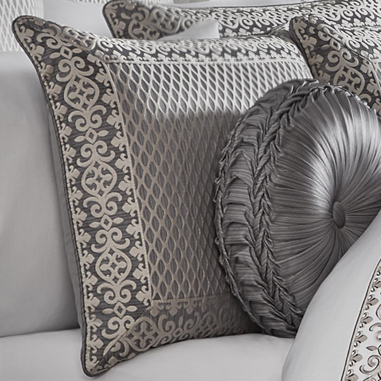 Houston Charcoal Comforter Collection -