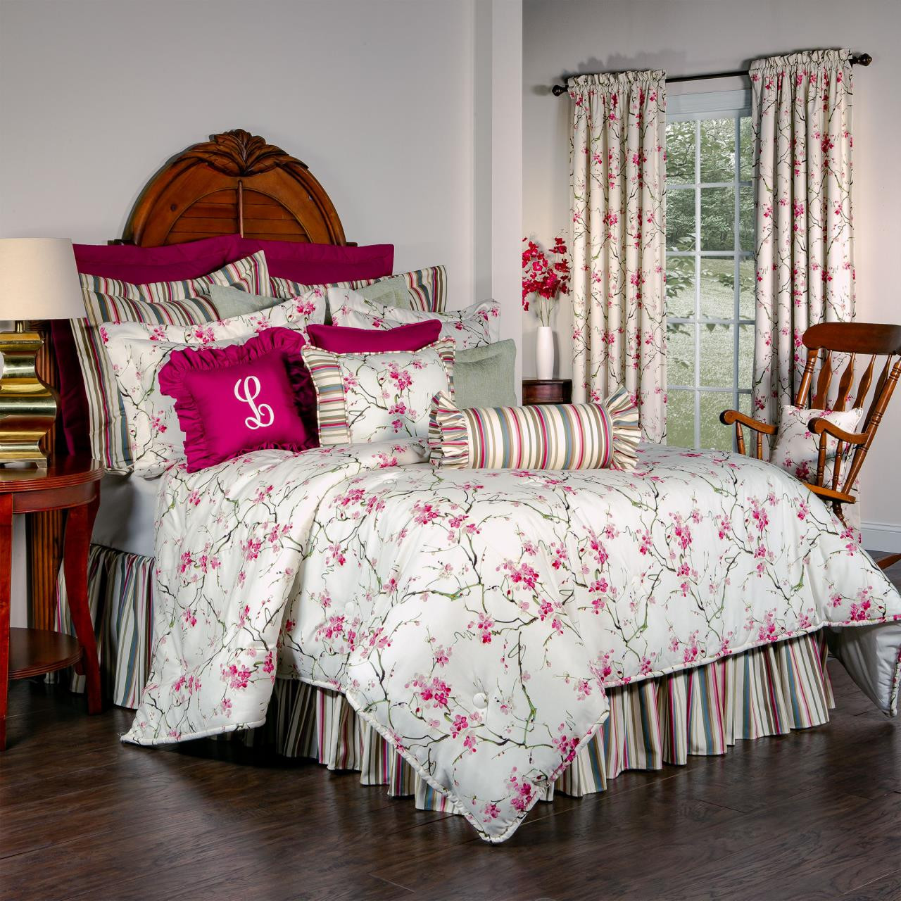 Cherry Blossom Bedding Collection -