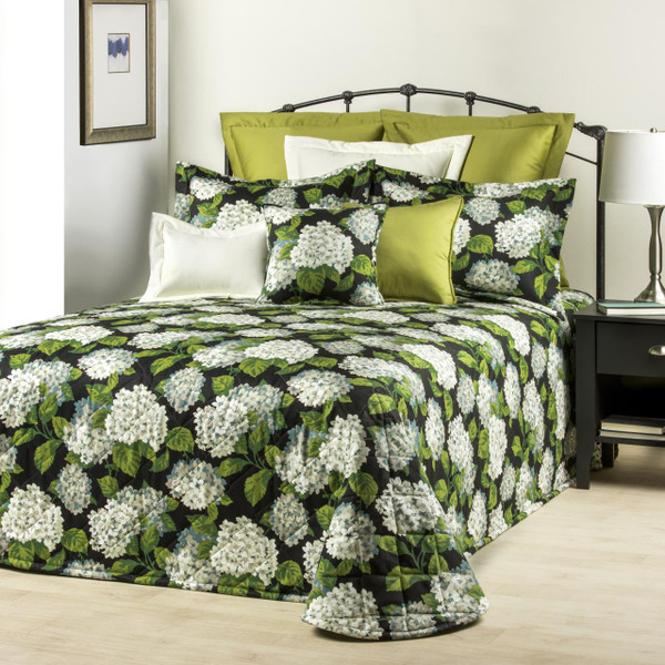 Hydrangea Onyx Bedding Collection -