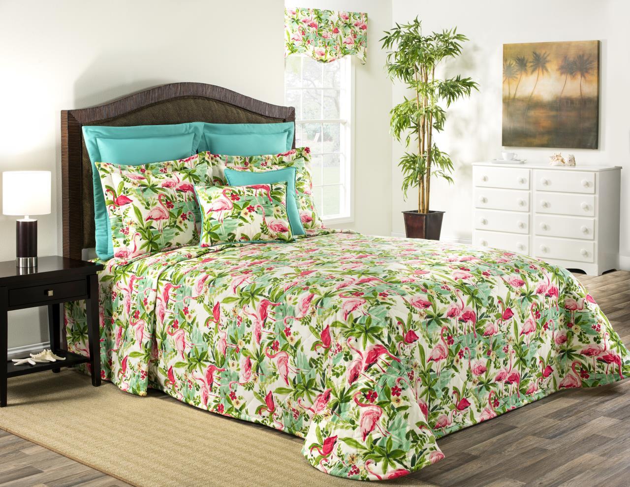 Floridian Flamingo Bedding Collection -