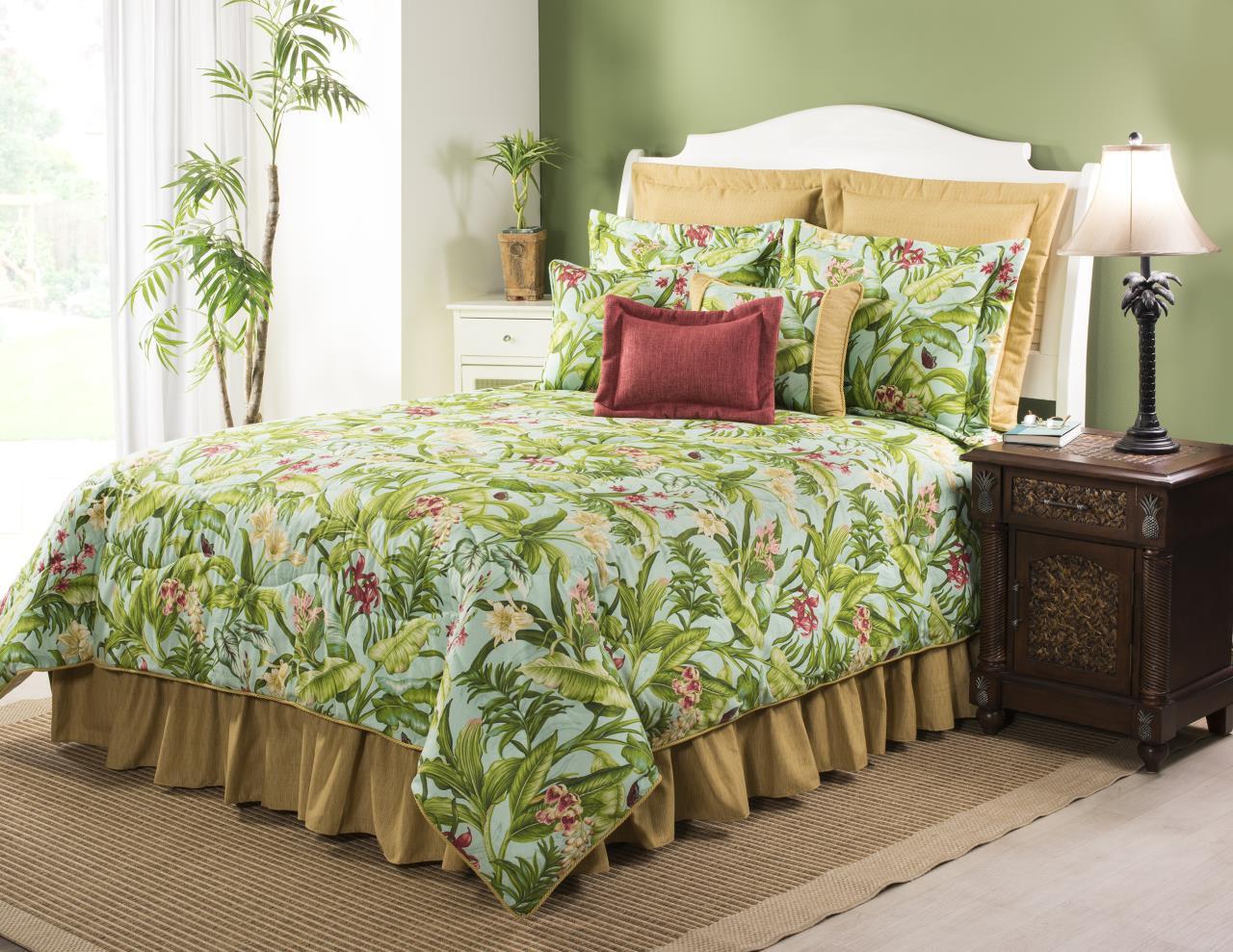 Wailea Coast Bloom Bedding Collection -