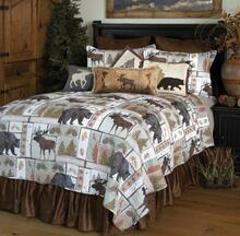Vintage Lodge Rustic Cabin Quilt Collection -