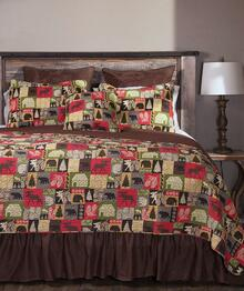 Cabin in the Woods Rustic Quilt Collection -