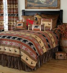 Maple Lake Rustic Cabin Comforter Collection -