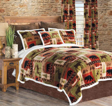 Patchwork Lodge Rustic Cabin Bedding Collection -