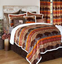 Roaming Bison Comforter Collection -