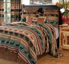 Skagit River Rustic Cabin Comforter Collection -