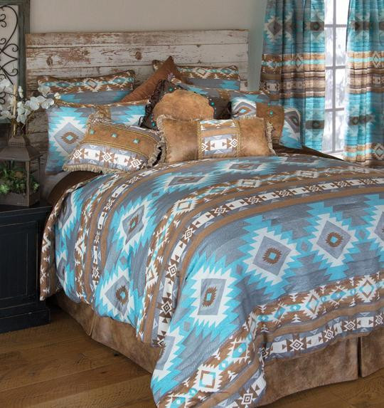 Wrangler Mesa Daybreak Southwestern Comforter Collection -