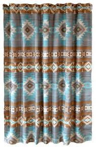 Wrangler Mesa Daybreak Southwestern Shower Curtain - 357311332222