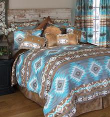 Wrangler Mesa Daybreak Southwestern Comforter Set - 357311332086