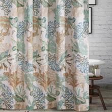 Atlantis Jade Shower Curtain - 636047398185