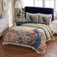 Eden Peacock Quilt Collection -