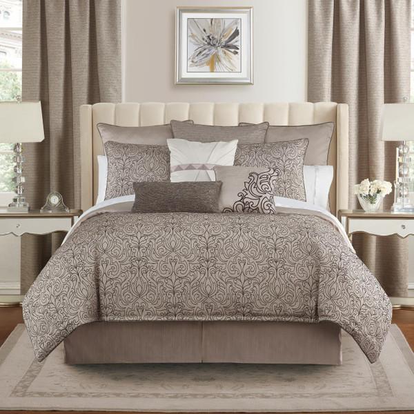 Patrizia Mocha Comforter Collection -