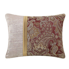 Danehill Red Embroidered Pillow - 038992940189