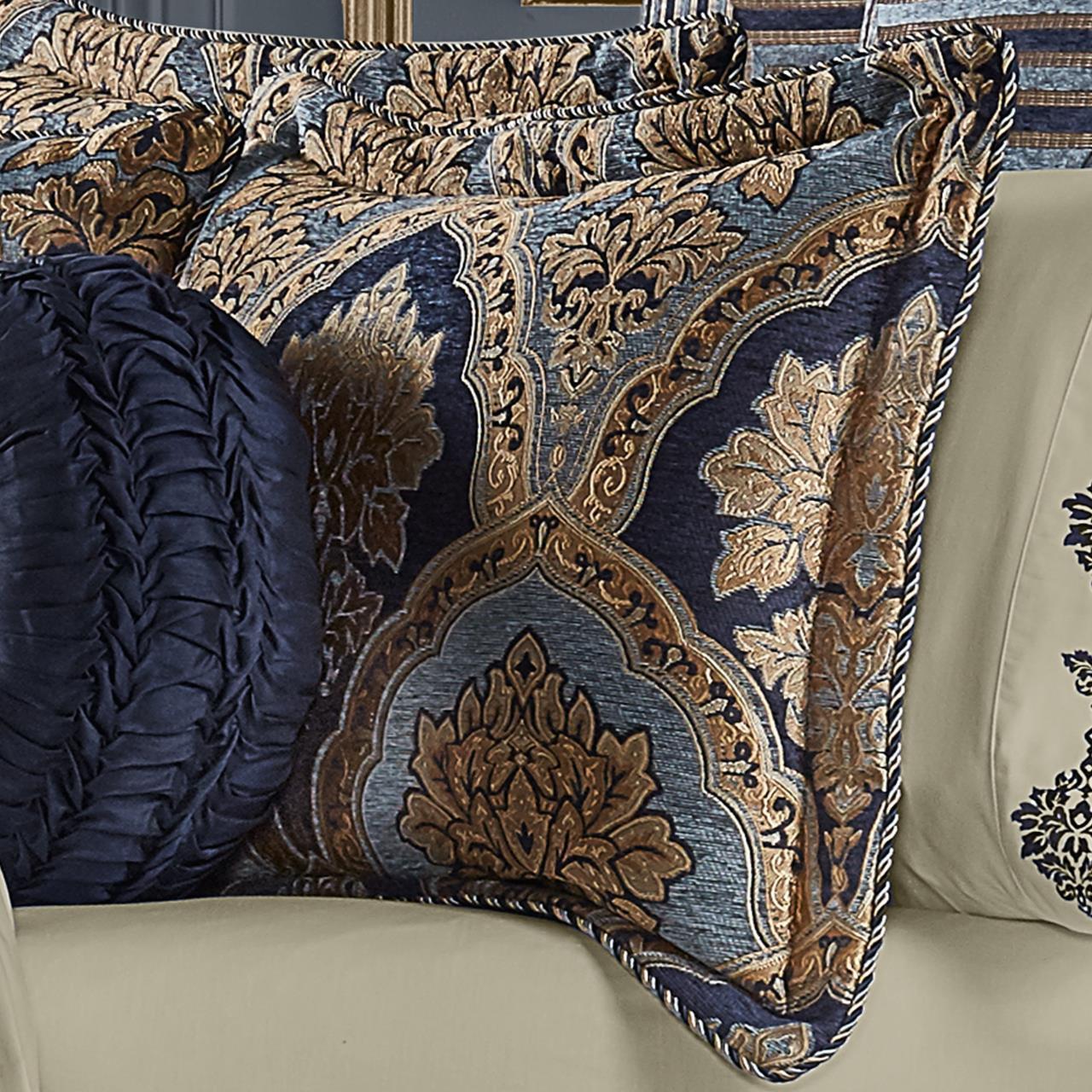Bristol Indigo Comforter Collection - 193842112489