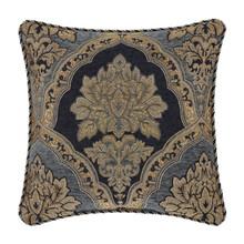 """Bristol Indigo 18"""" Square Pillow - 193842112540"""